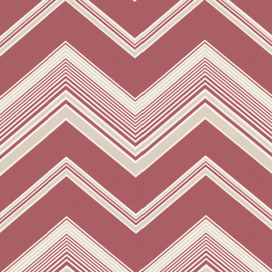 Brewster Wallcovering Elements Pink Non-Woven Geometric Wallpaper