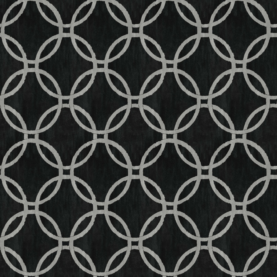 Brewster Wallcovering Simple Space 2 Black Non-Woven Geometric Wallpaper