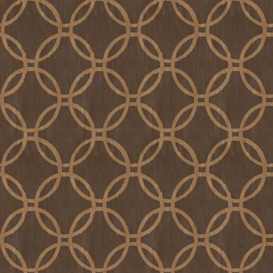 Brewster Wallcovering Simple Space 2 Brown Non-Woven Geometric Wallpaper