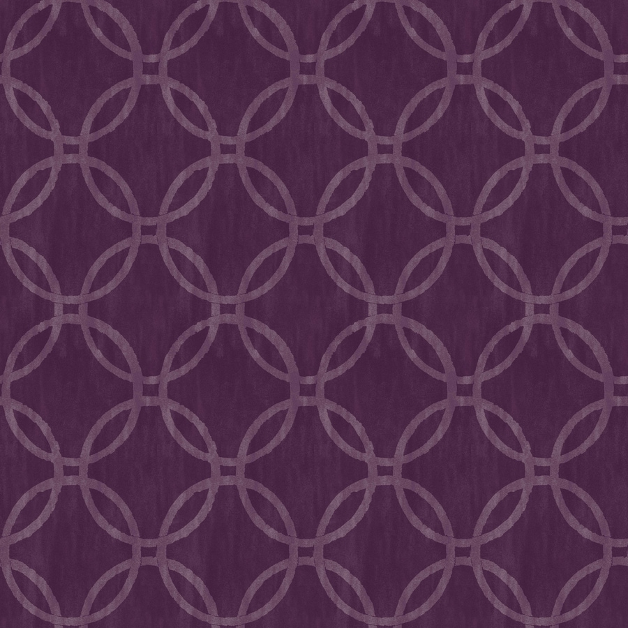 Brewster Wallcovering Simple Space 2 Purple Non-Woven Geometric Wallpaper