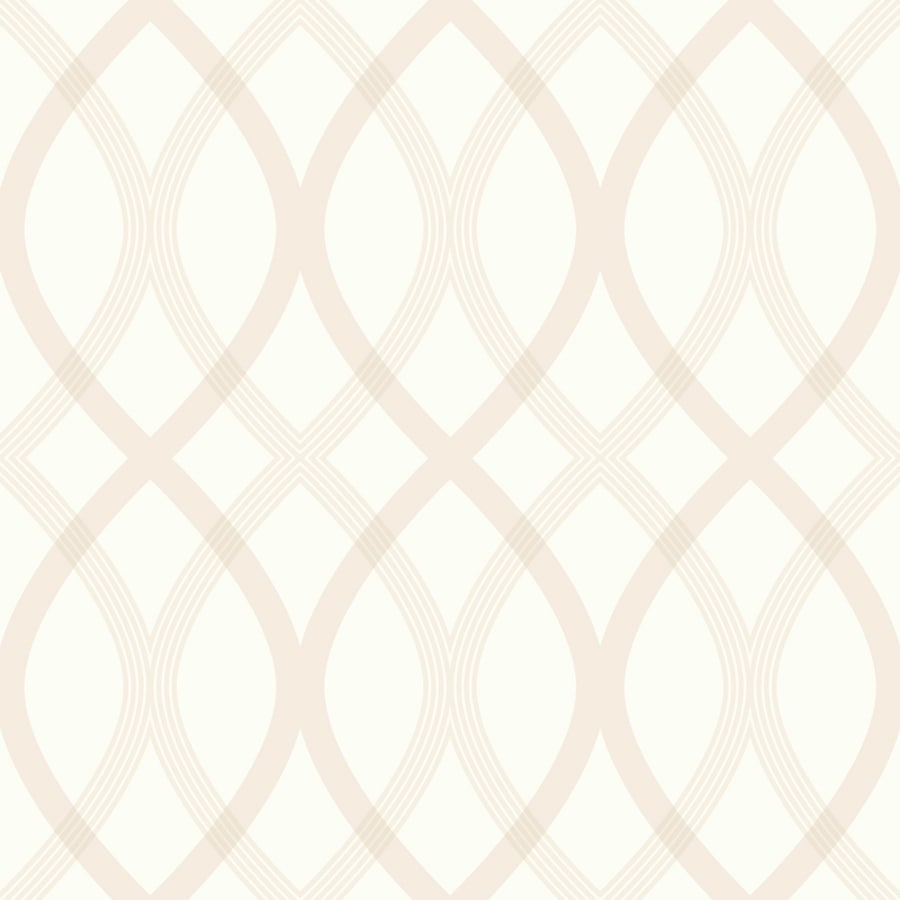 Brewster Wallcovering Beige Classic Geometric Wallpaper
