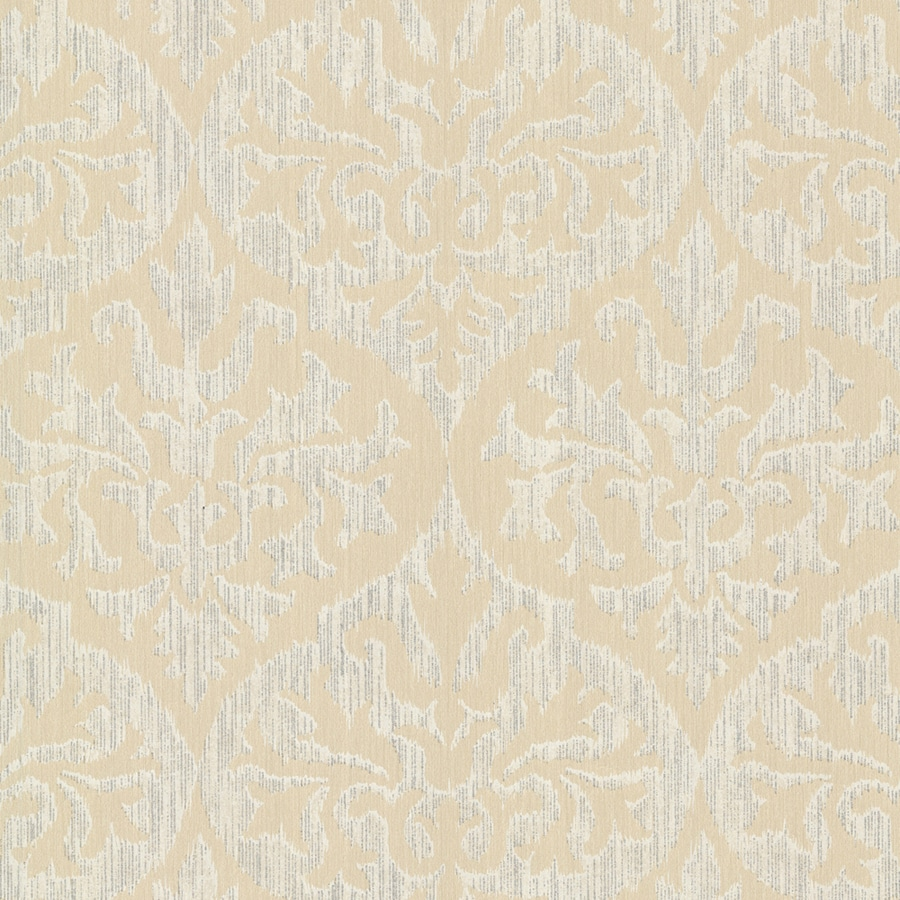 Brewster Wallcovering Sparkle Gold Non-Woven Damask Wallpaper