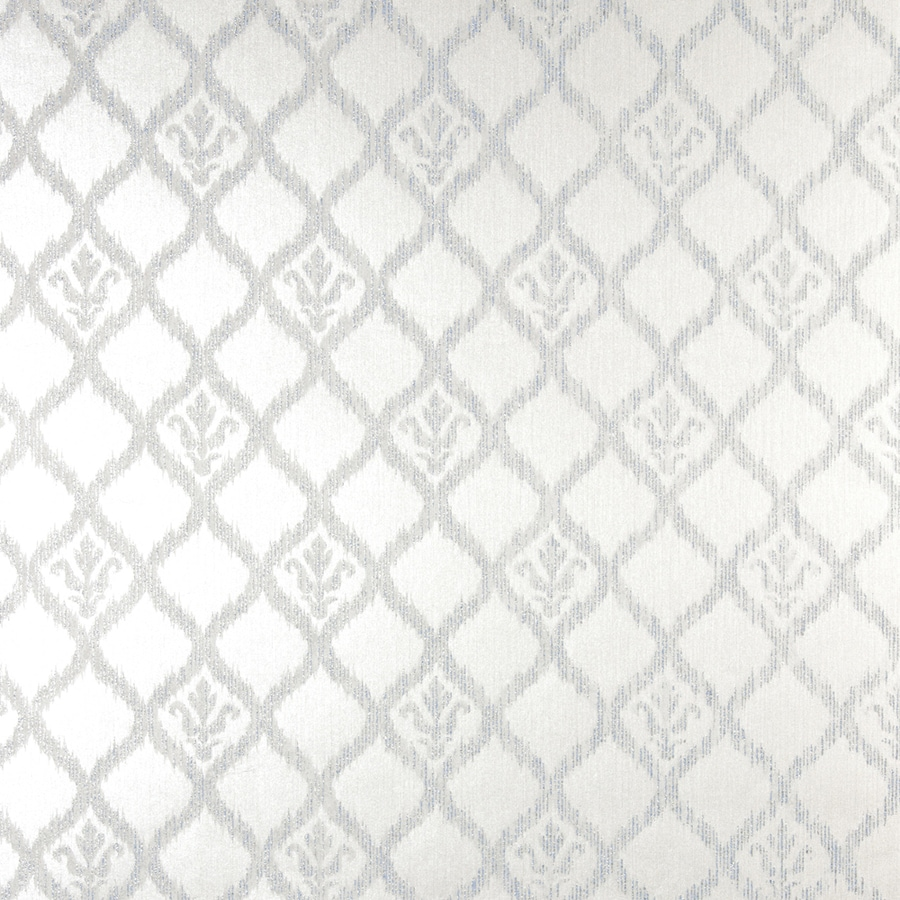 Brewster Wallcovering Silver Classic Geometric Wallpaper