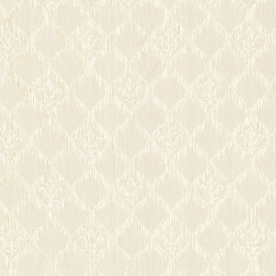 Brewster Wallcovering Sparkle Champagne Non-Woven Geometric Wallpaper