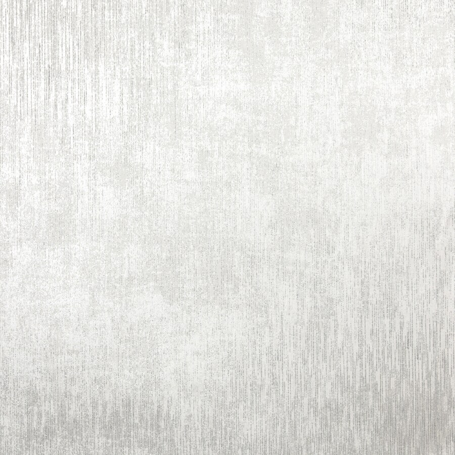Brewster Wallcovering Silver Textured Wallpaper