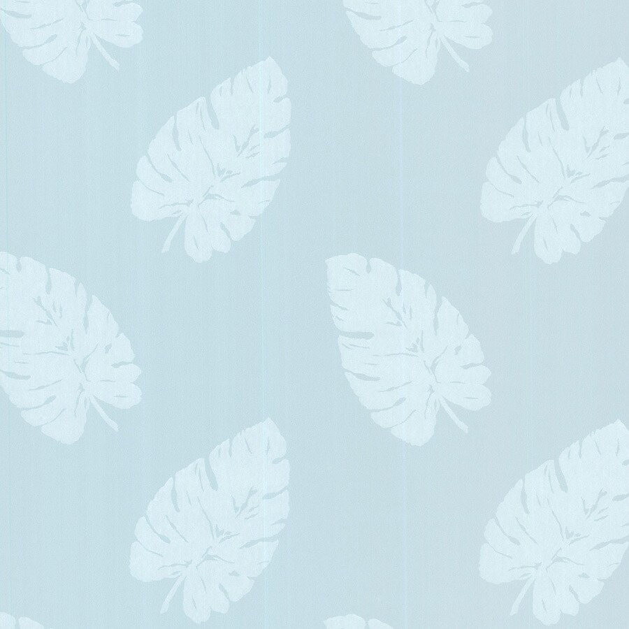 Brewster Wallcovering Light Blue Non-Woven Ivy/Vines Wallpaper
