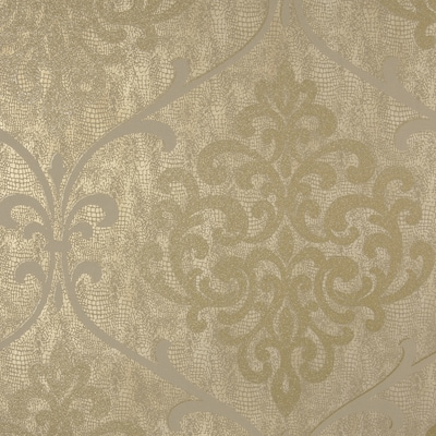 Brewster Wallcovering Sparkle 56 Sq Ft Brass Non Woven