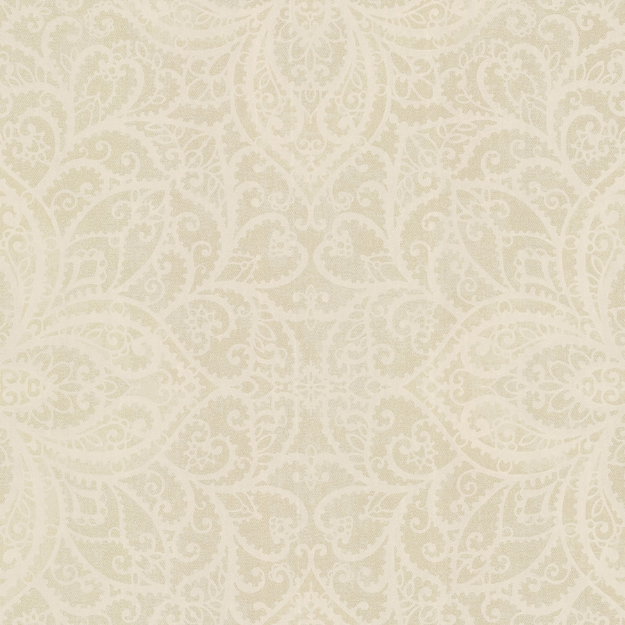 Brewster Wallcovering Sparkle Brass Non-Woven Medallion Wallpaper