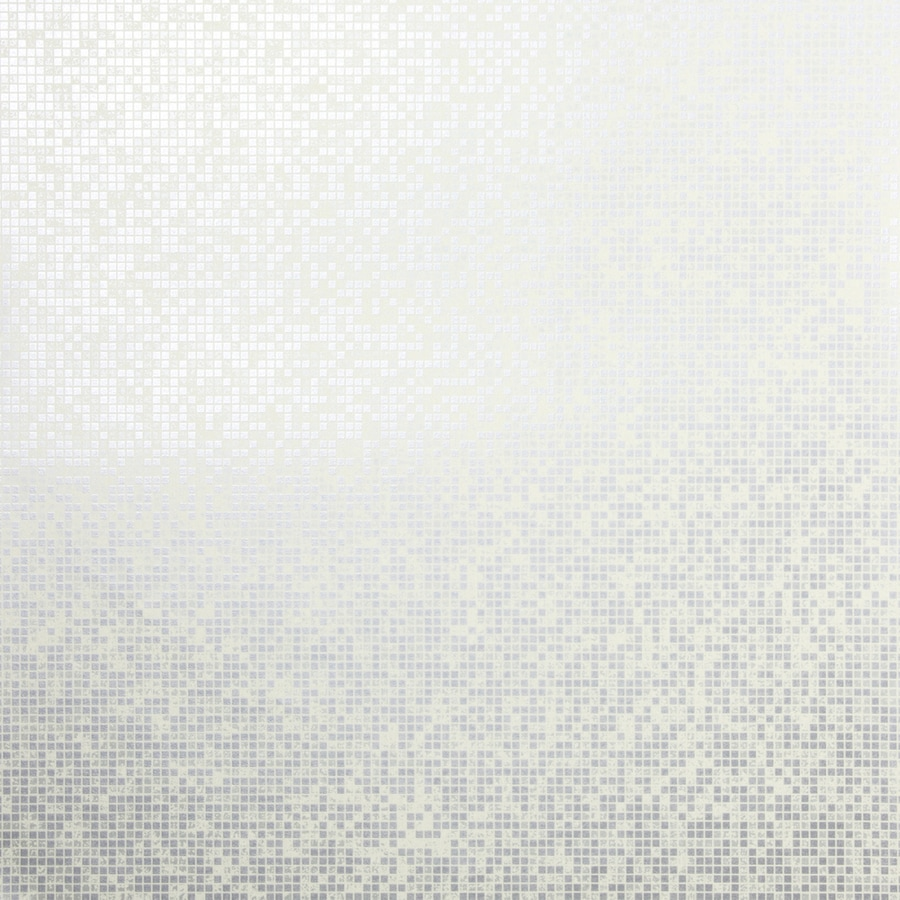 Brewster Wallcovering Sparkle Pewter Non-Woven Tile Wallpaper