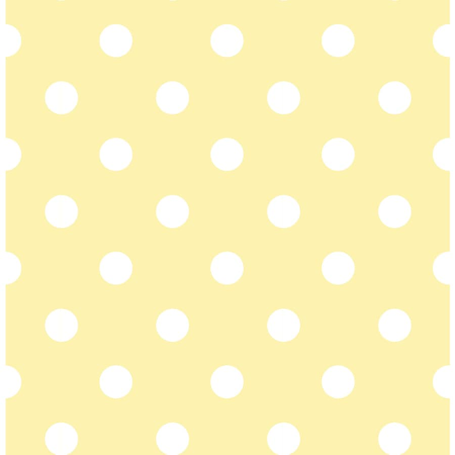 WallPops Peel and Stick Yellow Vinyl Geometric Wallpaper