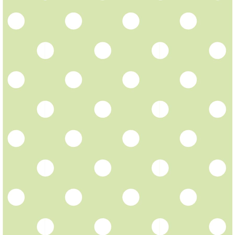 WallPops Peel and Stick Green Vinyl Geometric Wallpaper