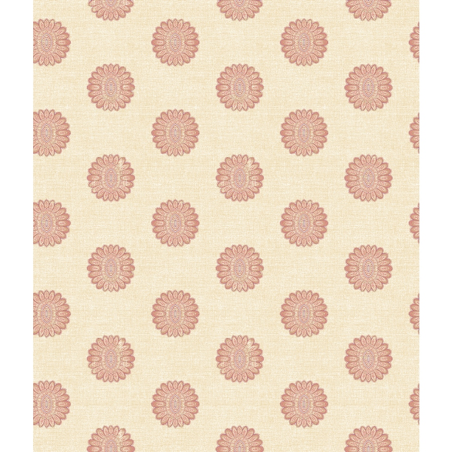 Brewster Wallcovering Ruby Classic Geometric Wallpaper