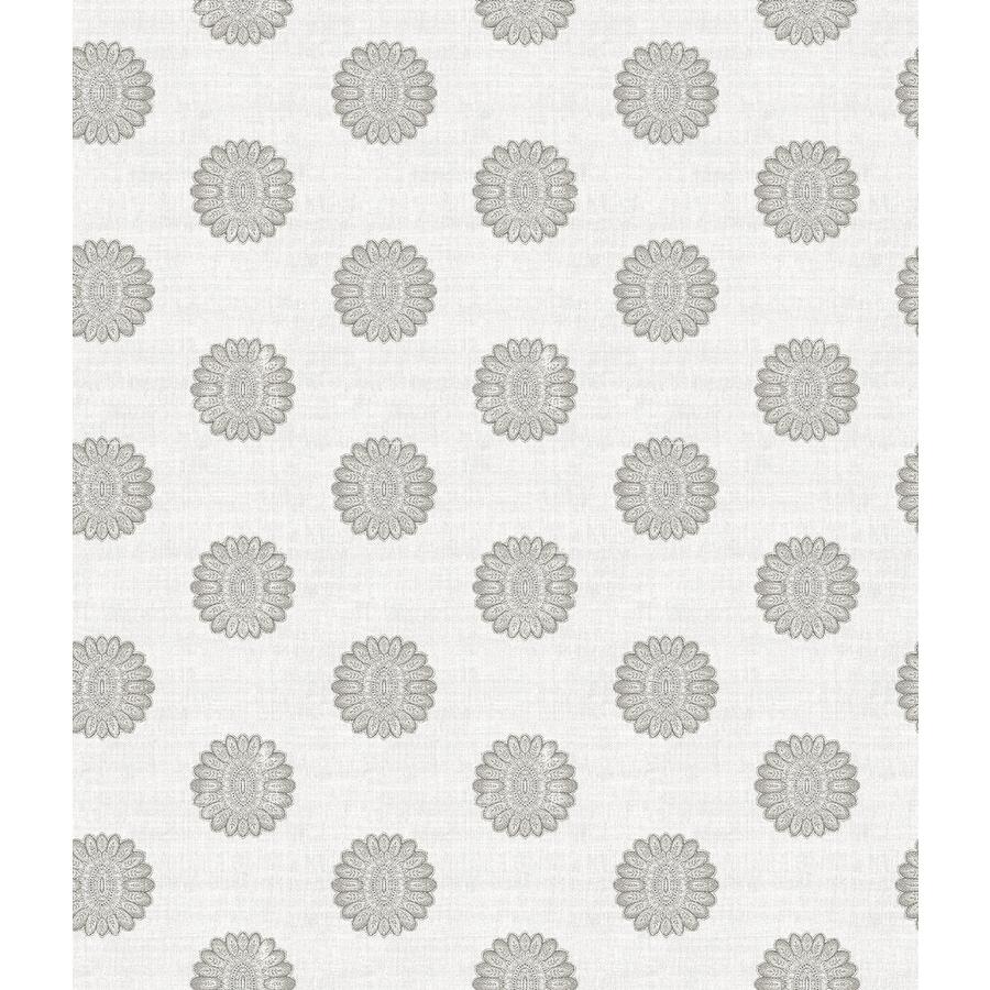 Brewster Wallcovering Ami Grey Non-Woven Geometric Wallpaper