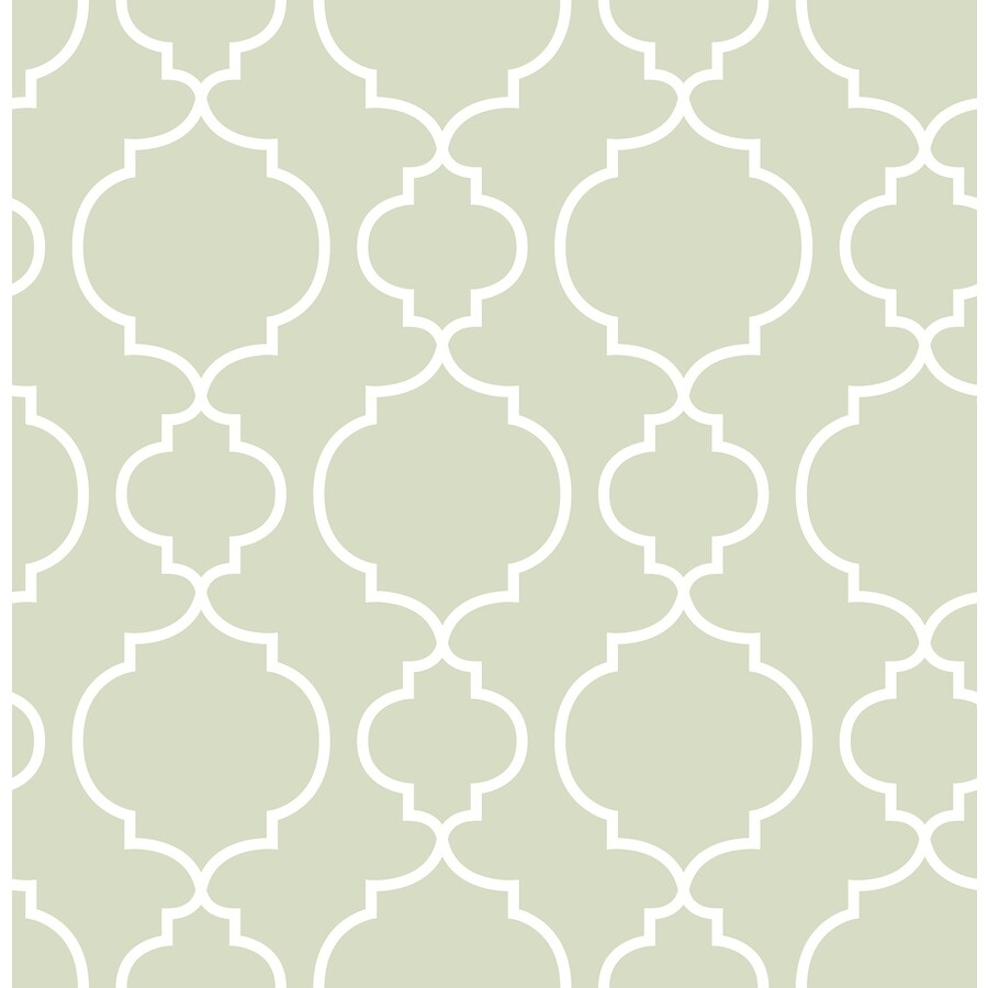 Brewster Wallcovering Ami Sage Non-Woven Geometric Wallpaper