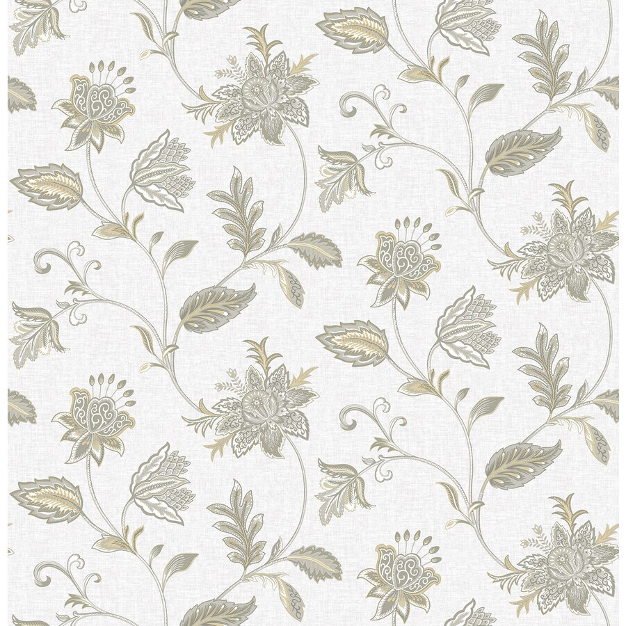Brewster Wallcovering Haze Classic Floral Wallpaper