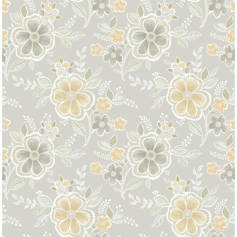 Brewster Wallcovering Honey Classic Floral Wallpaper
