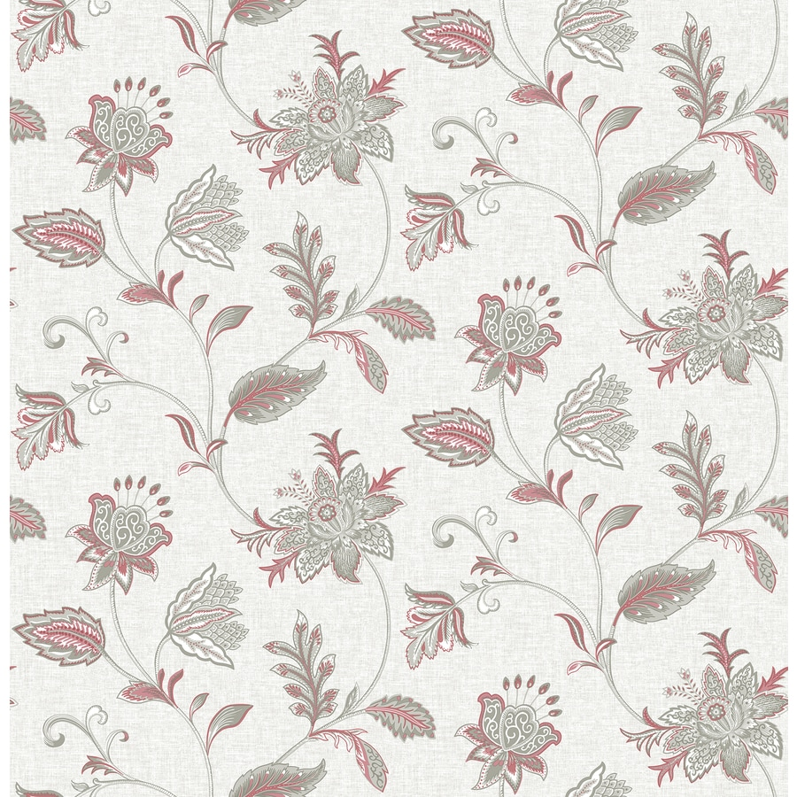 Brewster Wallcovering Ami Sage Non-Woven Floral Wallpaper