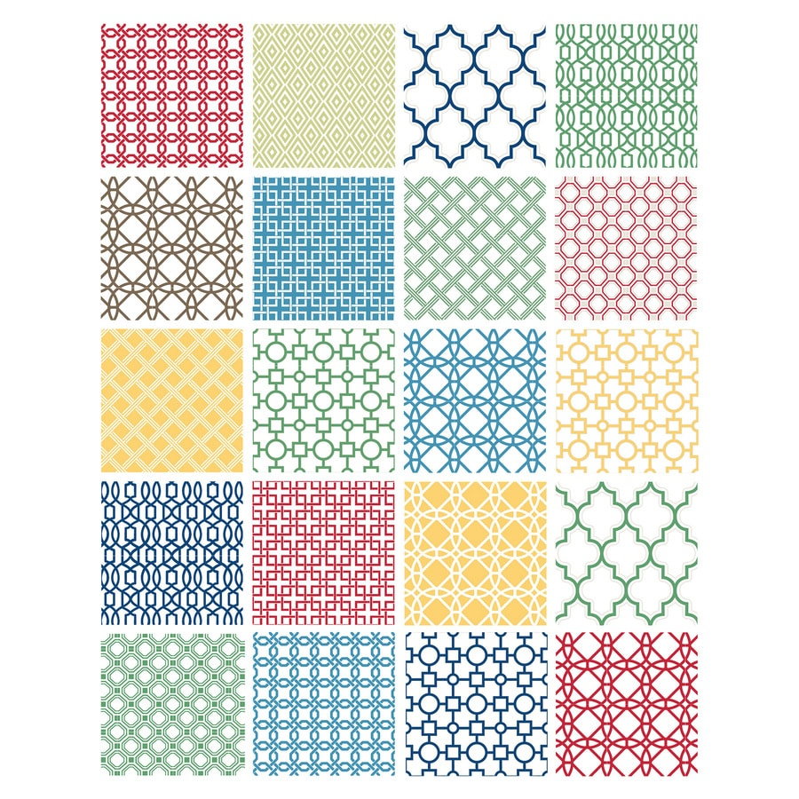 Brewster Wallcovering Geometric Wall Stickers