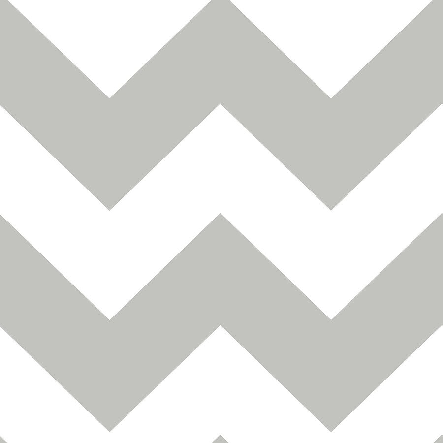 Brewster Wallcovering Peel and Stick Grey Vinyl Geometric Wallpaper