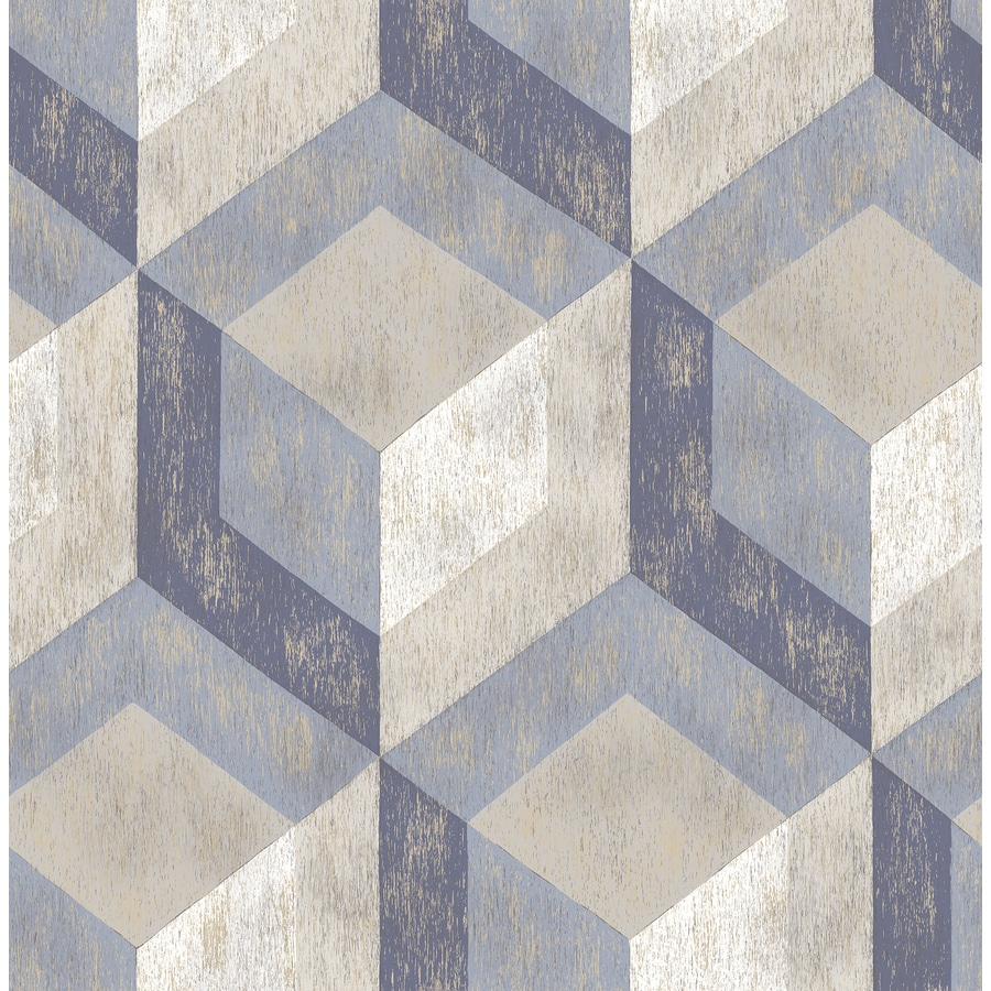 Brewster Wallcovering Blue Classic Wallpaper