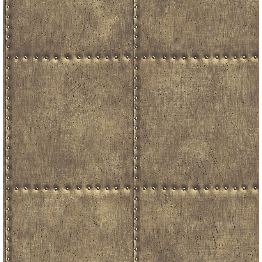 Brewster Wallcovering Brass Classic Wallpaper