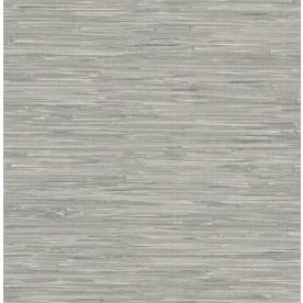 WallPops 30.75-sq ft Gray Vinyl Grasscloth Peel And Stick Wallpaper
