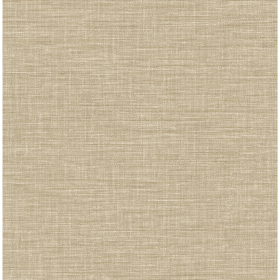 Brewster Wallcovering Exhale Taupe Faux Grasscloth Wallpaper