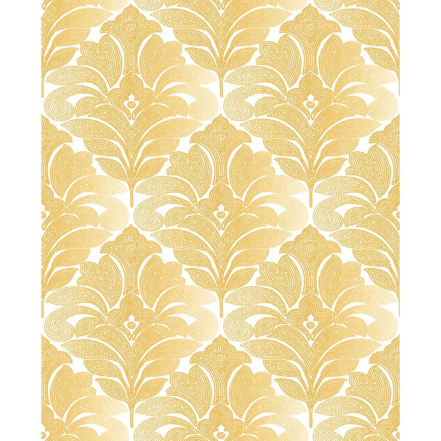 Brewster Wallcovering Balangan Honey Damask Wallpaper