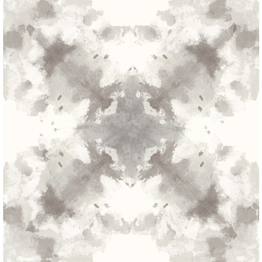Brewster Wallcovering Moonlight 56.4-sq ft Taupe Non-Woven Geometric  Wallpaper
