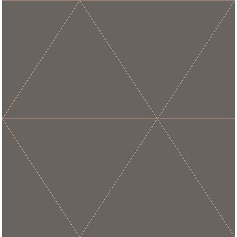 Brewster Wallcovering Moonlight 56.4-sq ft Grey Non-Woven Geometric  Wallpaper