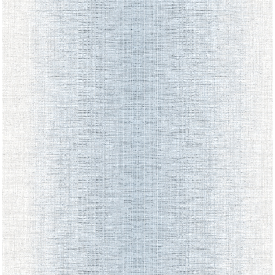 Brewster Wallcovering Moonlight 56.4-sq ft Light Blue Non-Woven Stripes  Wallpaper