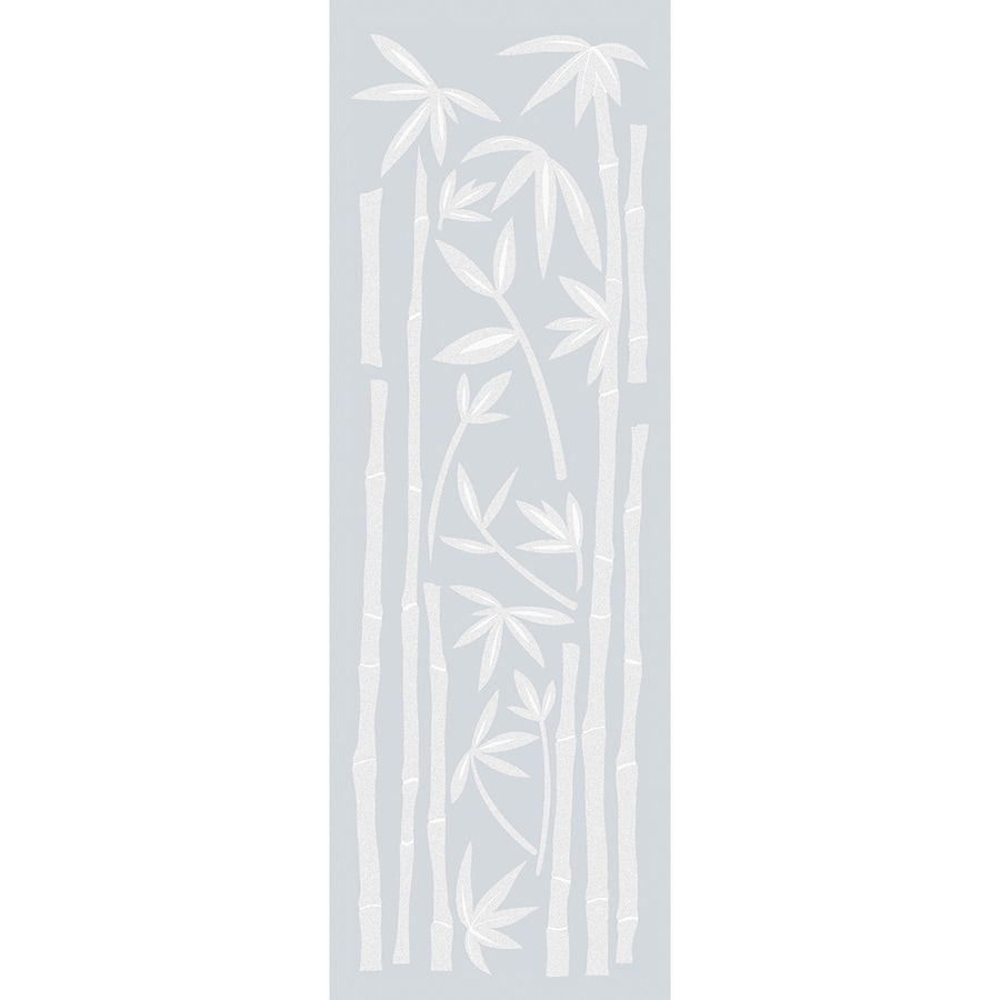 Brewster Wallcovering 40-in W x 13.25-in L Gray Frosted Privacy/Decorative Adhesive Window Film