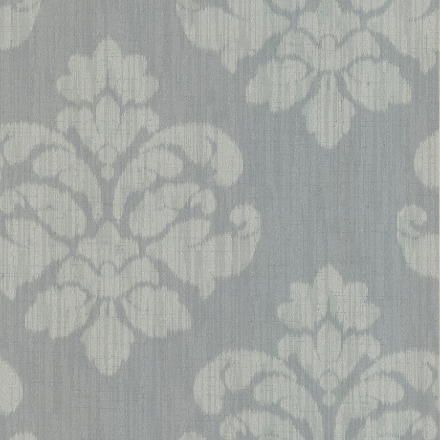 Brewster Wallcovering Sage Non-Woven Damask Wallpaper