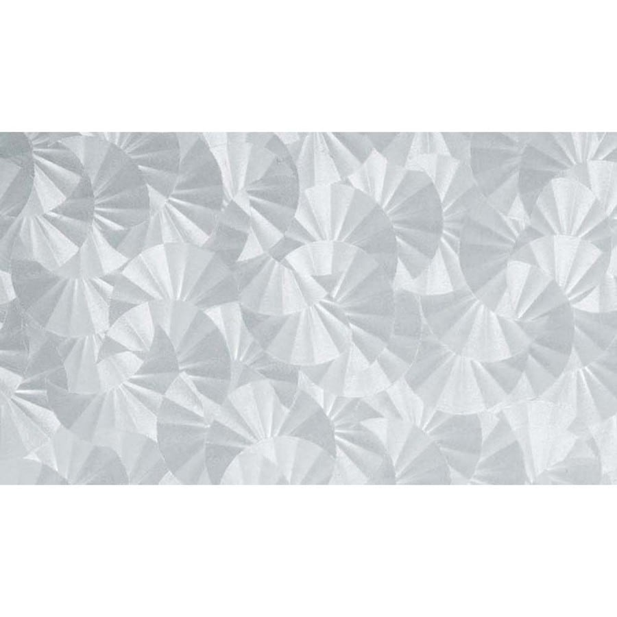 Brewster Wallcovering 17.7500-in W x 157.5000-in L Clear Frosted Privacy/Decorative Adhesive Window Film