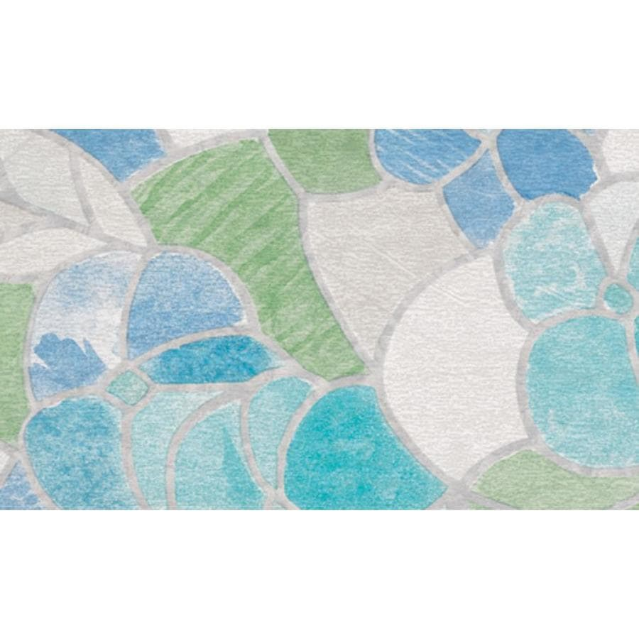 Brewster Wallcovering 17.75-in W x 157.5-in L Multi-color Stained Glass Privacy/Decorative Adhesive Window Film
