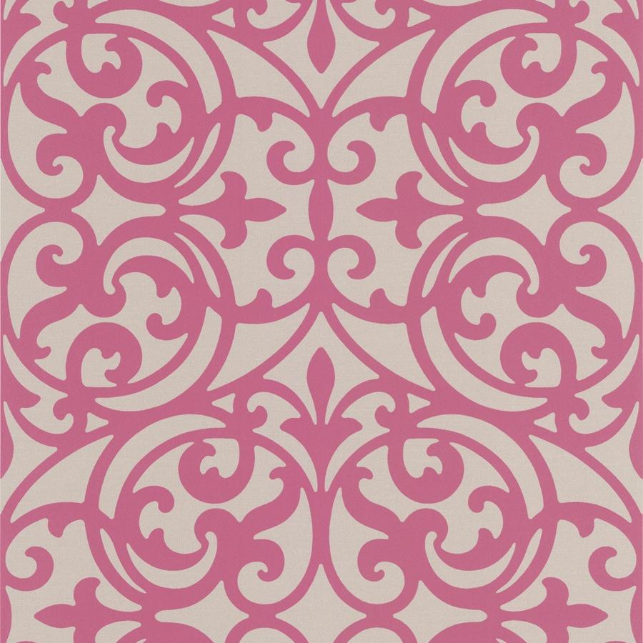 Brewster Wallcovering Fuchsia Classic Wallpaper