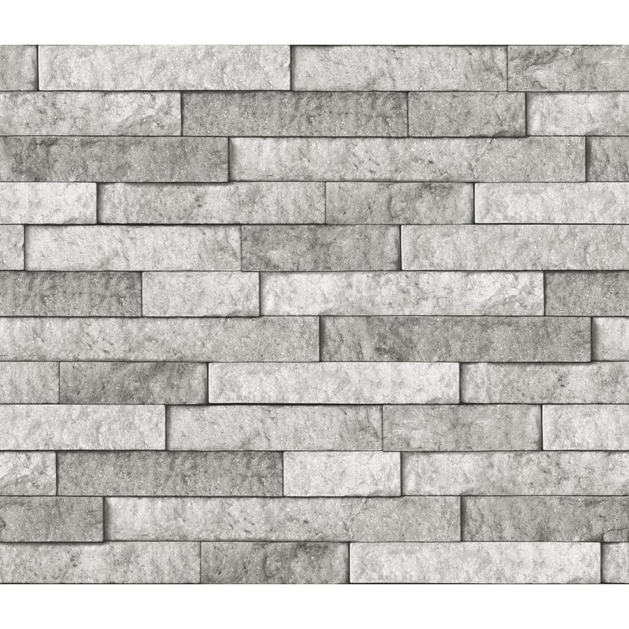 - InHome Grey Stone Peel And Stick Backsplash In The Wall Decals