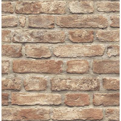 Brick Wallpaper At Lowes Com