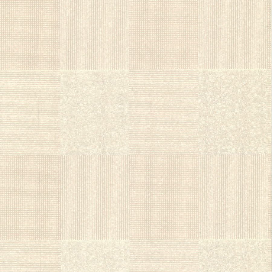 Brewster Wallcovering Kitchen and Bath Resource III 56-sq ft Beige Non-Woven Tile  Wallpaper