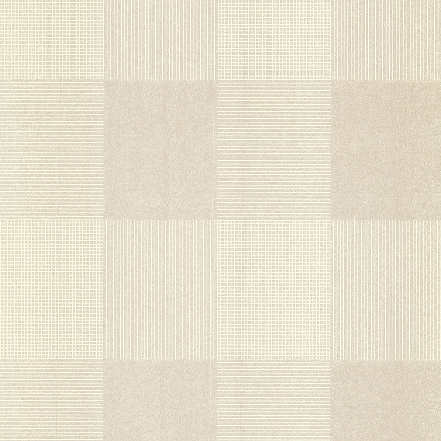Brewster Wallcovering Kitchen and Bath Resource III Cream Non-Woven Tile Wallpaper