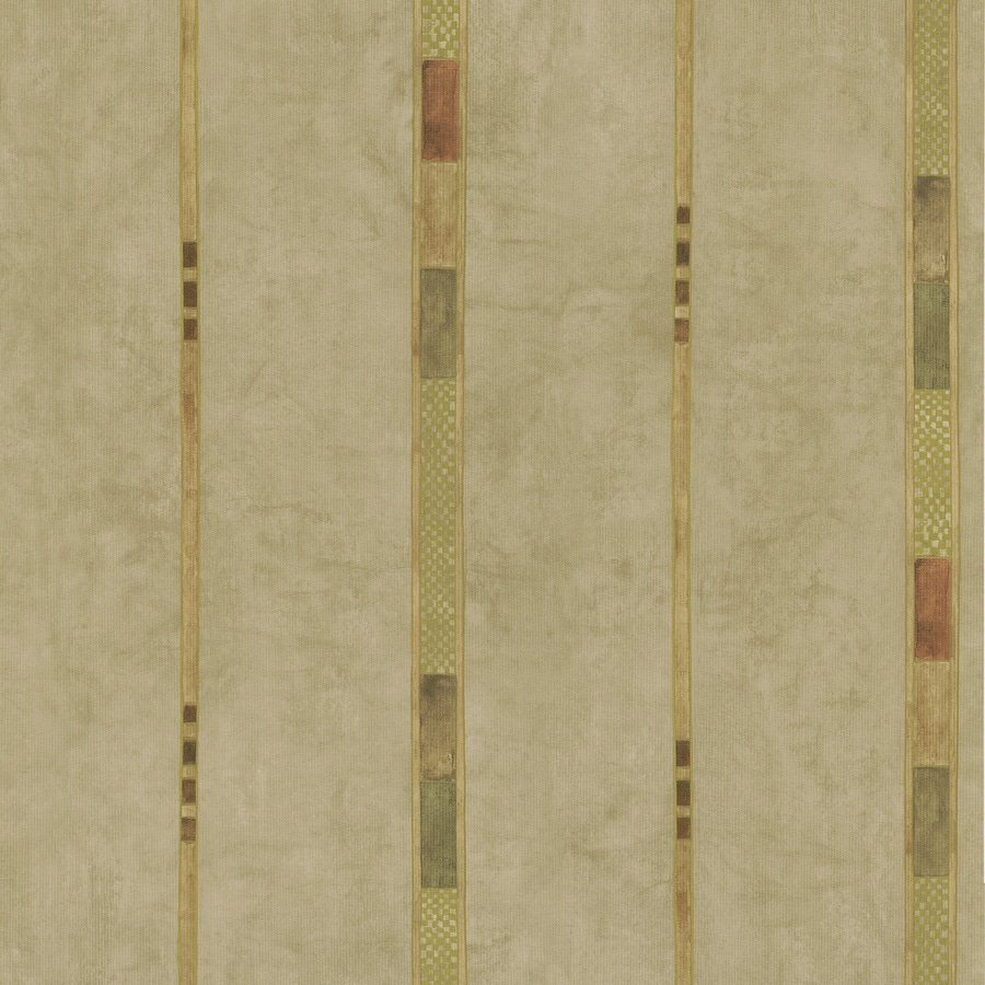 Brewster Wallcovering Beige Classic Stripes Wallpaper