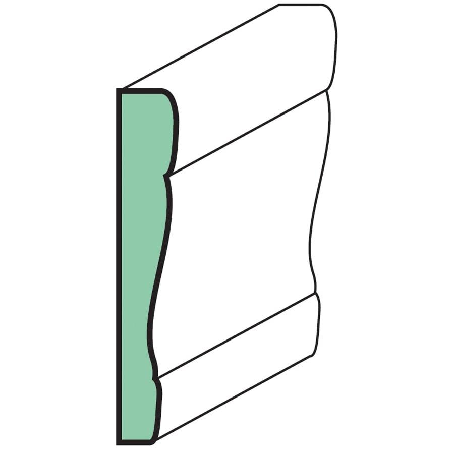 "EverTrue Fingerjoint Primed Case 3 1/2"" x 15'' x 9/16"""
