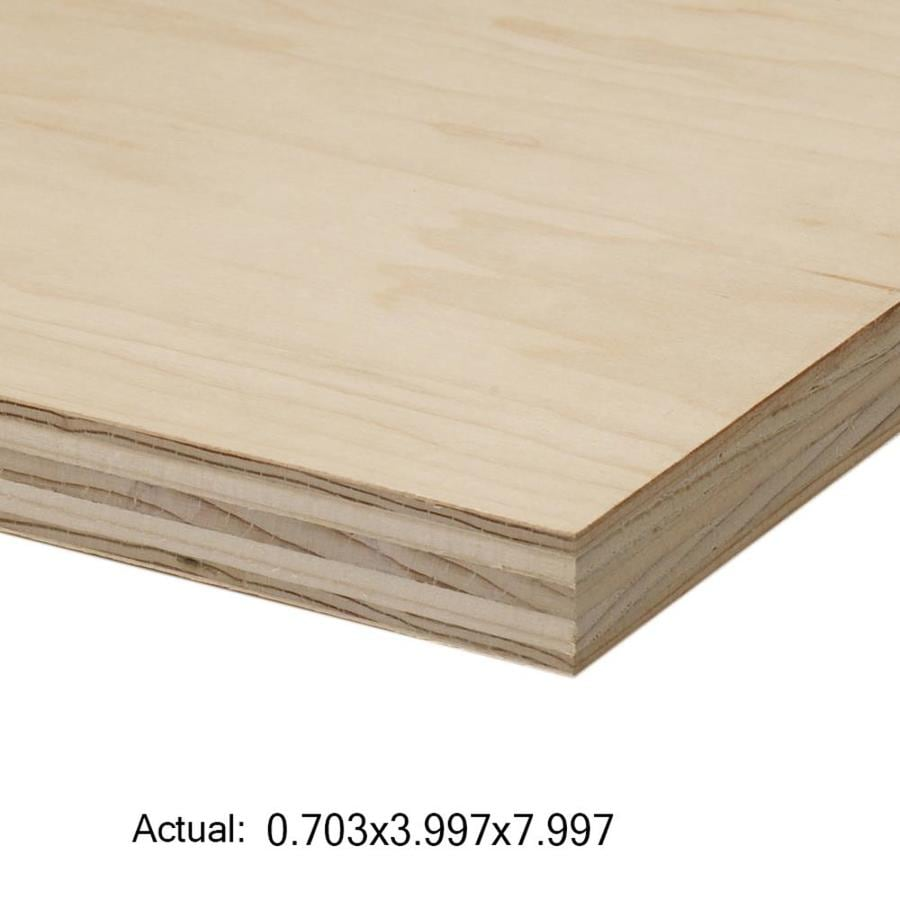 Top Choice 3/4-in HPVA Maple Plywood, Application As 4 x 8