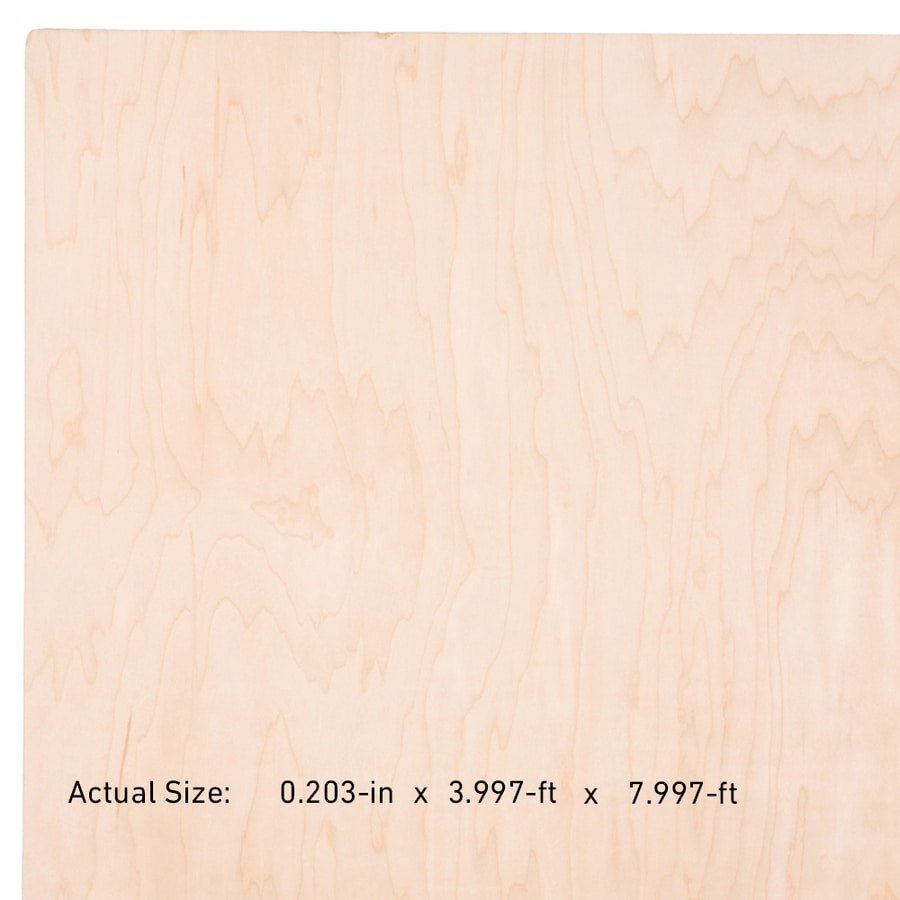 Top Choice NAF 1/4-in HPVA Maple Plywood , Application As 4 x 8