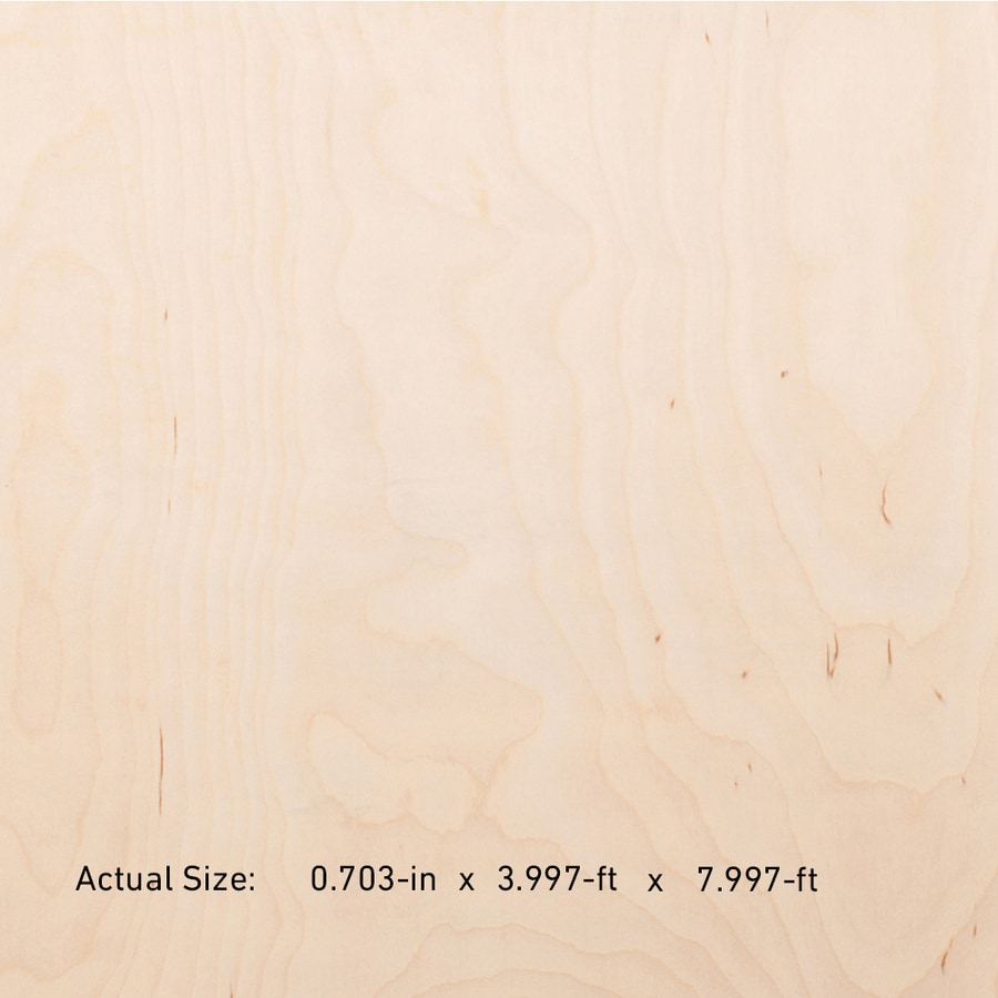 Top Choice NAF 3/4-in HPVA Maple Plywood , Application As 4 x 8