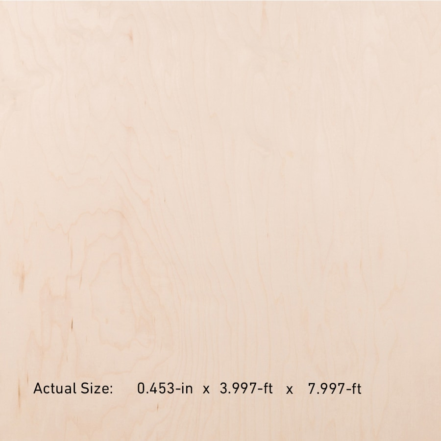 Top Choice NAF 1/2-in HPVA Maple Plywood , Application As 4 x 8