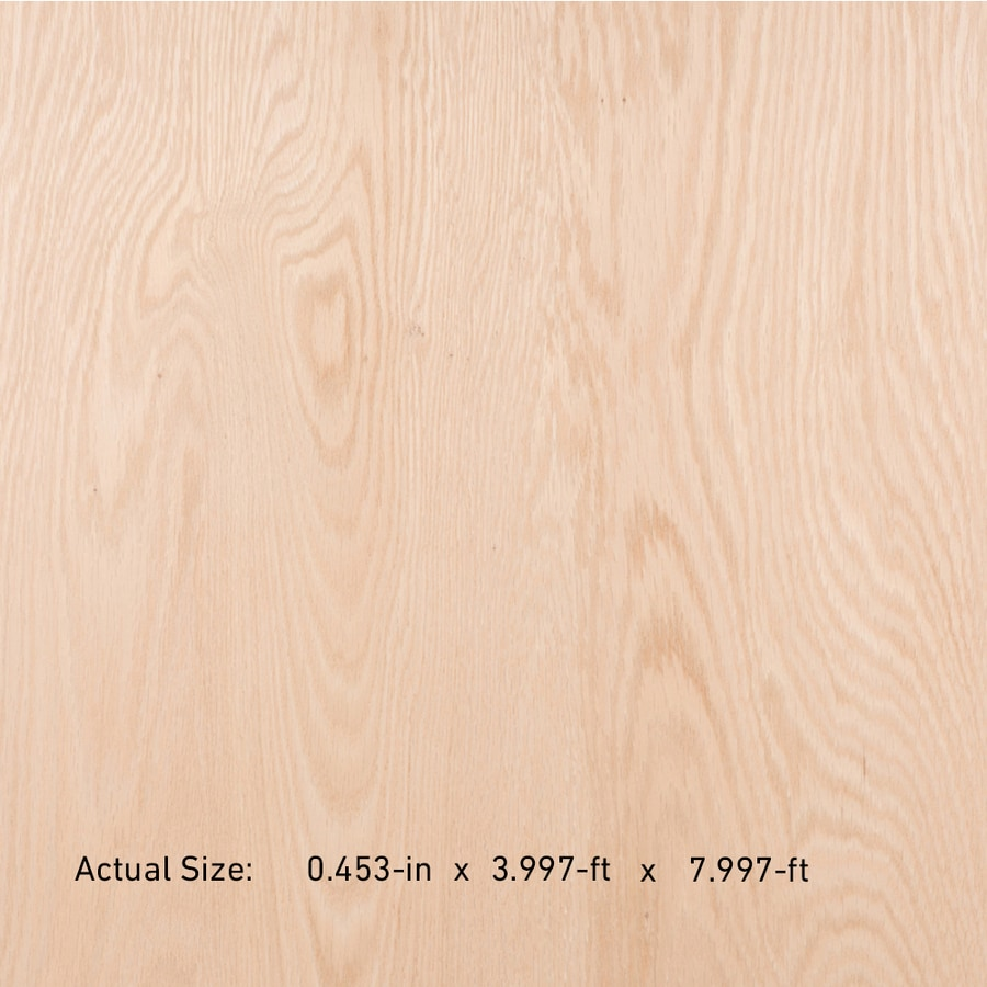Top Choice NAF 1/2-in HPVA Oak Plywood , Application As 4 x 8