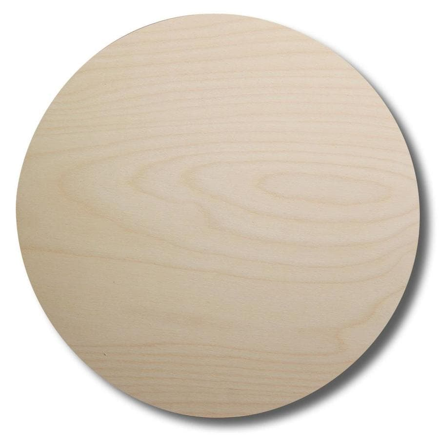Birch Circle Radius Edge Birch Board At Lowescom
