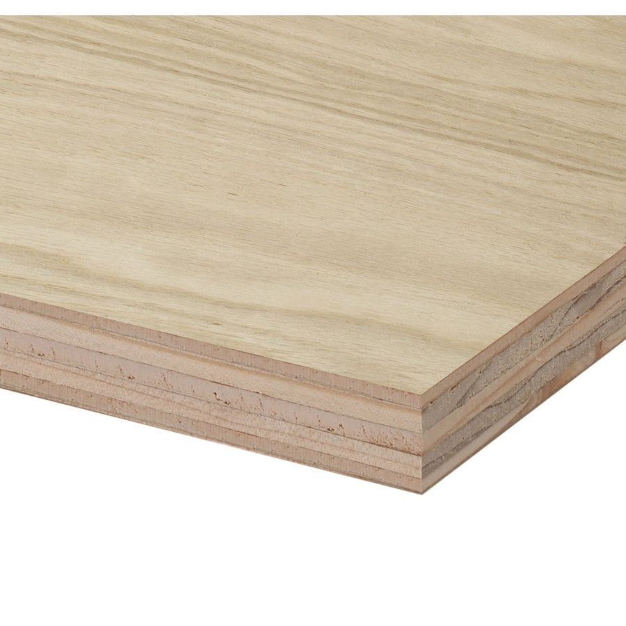 3 4 In Hpva Oak Plywood Application As 2 X 2 At Lowes Com