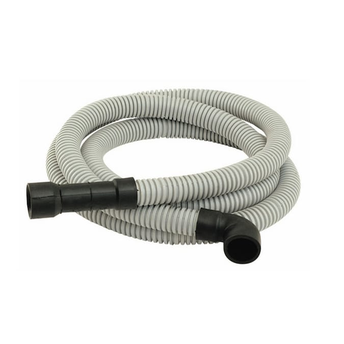 1-1//4 in x 7//8 in I.D PVC Washing Machine and Dishwasher Discharge Hose O.D x 10 ft